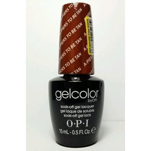 新品 送料無料 OPI gelcolor ジェルカラー  A-PIERS TO BE TAN GC F53 15ml オーピーアイ ジェルカラー●LED ジェルネイル ネイルカラー|elelerueru