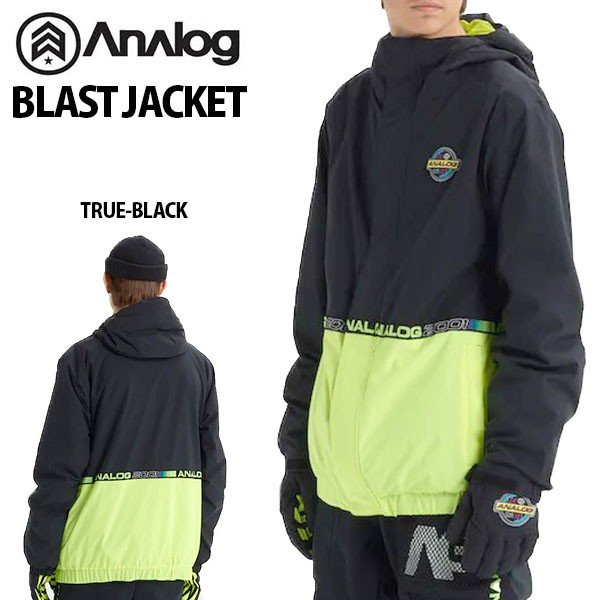 スノーボードウエア アナログ Analog Blast Jacket メンズ ジャケット スノボ スキー 2019-2020冬新作 19-20 19/20 10%off