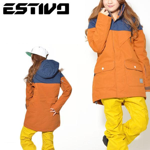 Mサイズのみ スノーボードウェア エスティボ ESTIVO PARADISE JKT レディース ジャケット スノボ スノーボード スキー 30%off