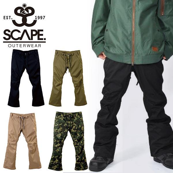 【着後レビューで 送料無料】 【最大22%還元】 スノーボードウェア SCAPE エスケープ RAID PANTS メンズ パンツ, (税込) c9dfcb25