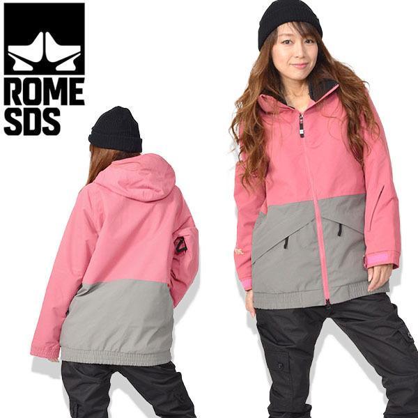 スノーボードウェア ROME SDS ローム レディース 婦人向け AXIS JACKET ジャケット スノボ スキー ウェア 30%off