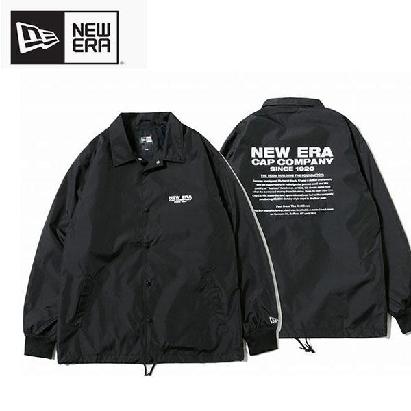 コーチジャケット NEWERA ニューエラ メンズ Coach Jacket 大きいサイズ ウインドブレーカー ナイロン 2019秋冬新作