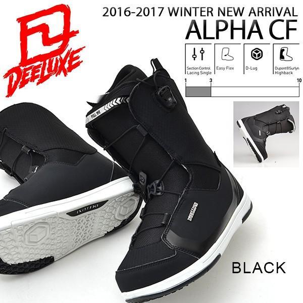 ディーラックス DEELUXE スノーボード ブーツ ALPHA CF メンズ レディース アルファ ノーマルインナー 得割40