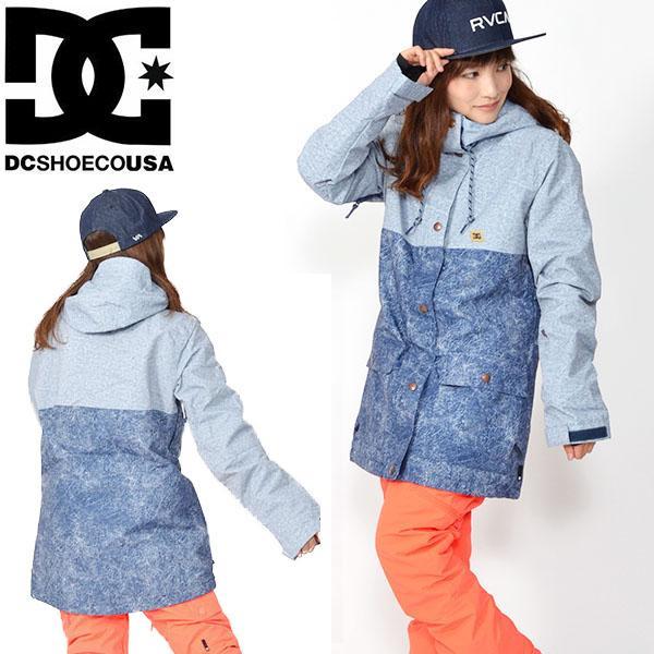 スノーボード ジャケット DC Shoes ディーシー シューズ レディース CRUISER JKT ロゴ スタジャン スノボ 25%off