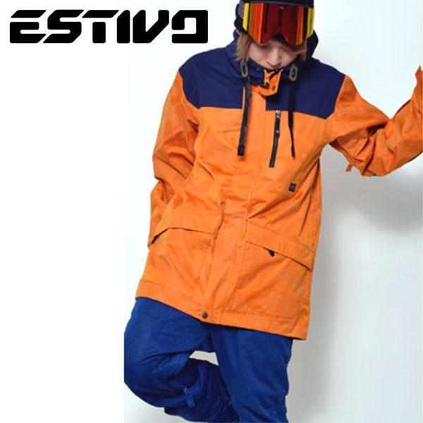 スノーボードウェア エスティボ ESTIVO EV HUNTER JKT メンズ ジャケット スノーボード スノーボードウエア 50%off