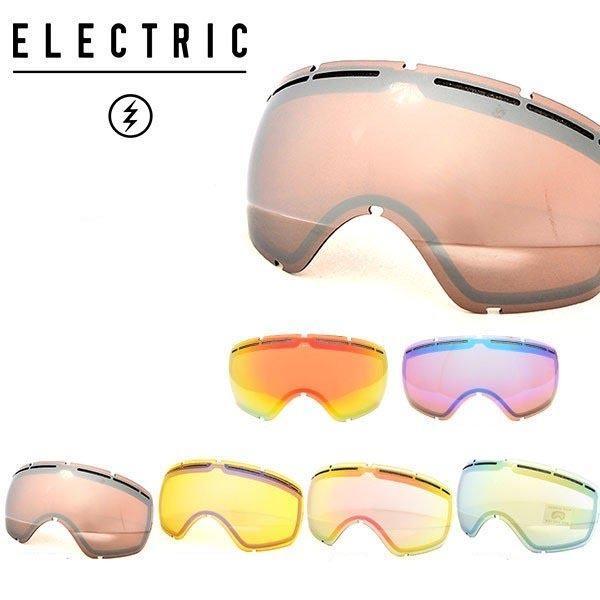 交換用レンズ ELECTRIC エレクトリック EG2.5 EG2-W ゴーグル 日本正規品 スペア スノー ボード 球面 20