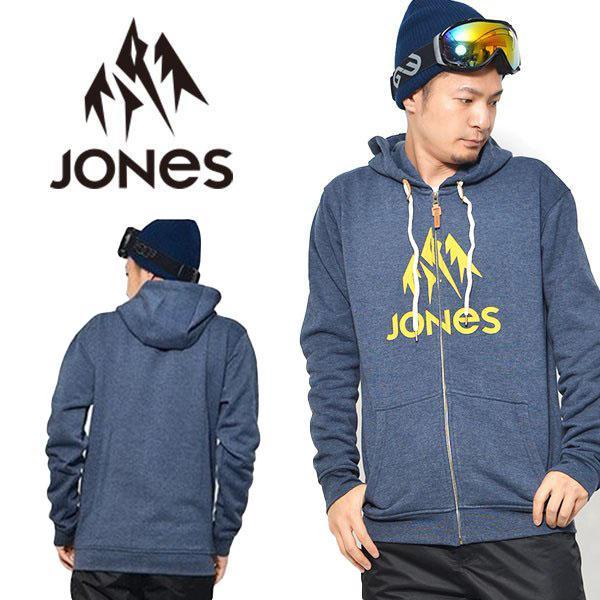 ジップアップ パーカー JONES ジョーンズ メンズ TRUCKEE HOODY ZIP スノー パーカー フーディ 日本正規品 得割30