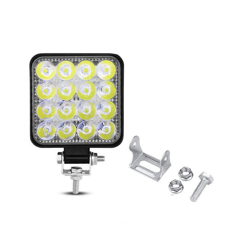 LED作業灯 ワークライト4台 ト48W 投光器 LED投光器4台セット elexparts 03