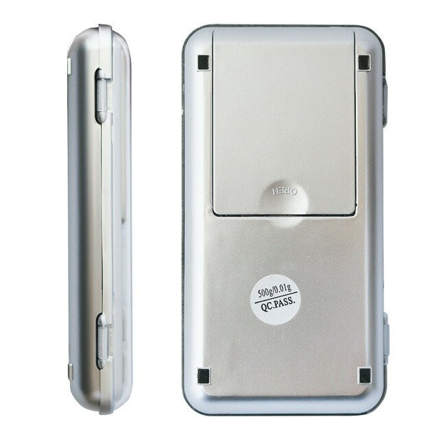 0.01g対応 デジタルスケール 最大500g計測可 小型 はかり 秤 小型 携帯用 計量 精密 電子 ミクロ 軽量 LED バックライト elpisstore 19