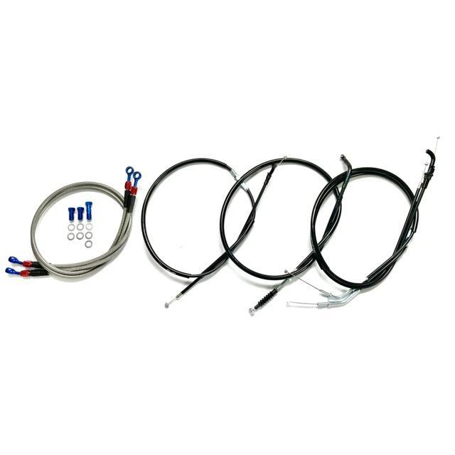 ゼファー400 アップハンKIT[STD〜+35cm]Bkit|elwave