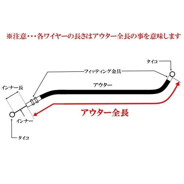 ゼファー400 アップハンKIT[STD〜+35cm]Bkit|elwave|05
