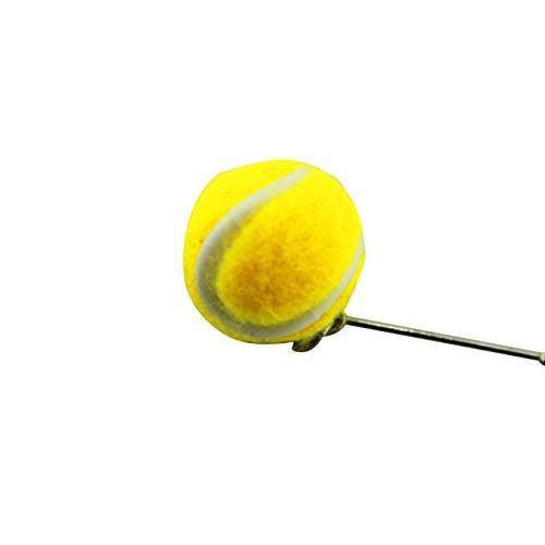 naissant かわいい 揺れる ボール 型 ピアス テニス テニスボール 応援 観戦 グッズ|ema-japan|02