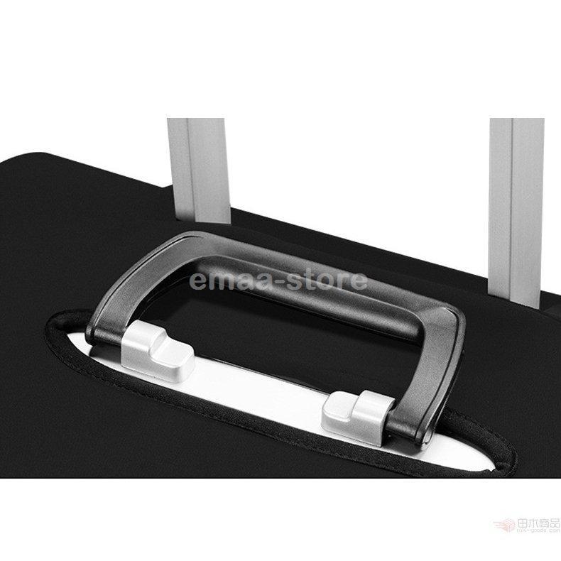 スーツケースカバー キャリーバッグケースカバー ラゲッジカバー トランク伸縮保護カバー 汚れ 傷 盗難防止 お洒落 旅行用品 S/M/L/XLサイズ適用|emaa-store|05