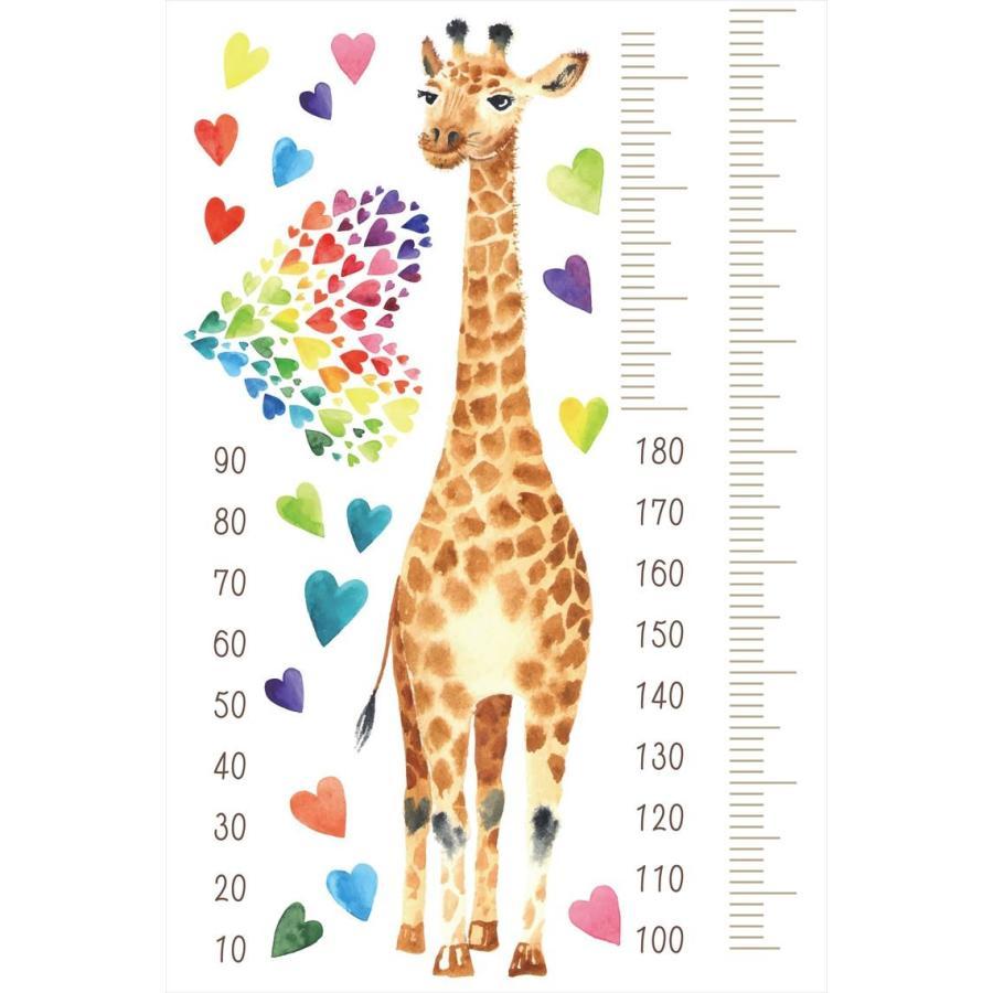 ウォールステッカー 身長計 記念 目盛り 子供部屋 動物 木 かわいい キリン 北欧 90 60cm シール式 装飾 おしゃれ 壁紙 はがせる Meter Ds E Mart 通販 Yahoo ショッピング