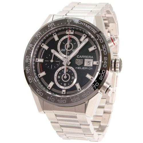 brand new ec9fb 1cd71 タグ・ホイヤー メンズ腕時計 カレラ CAR201Z.BA0714 ...