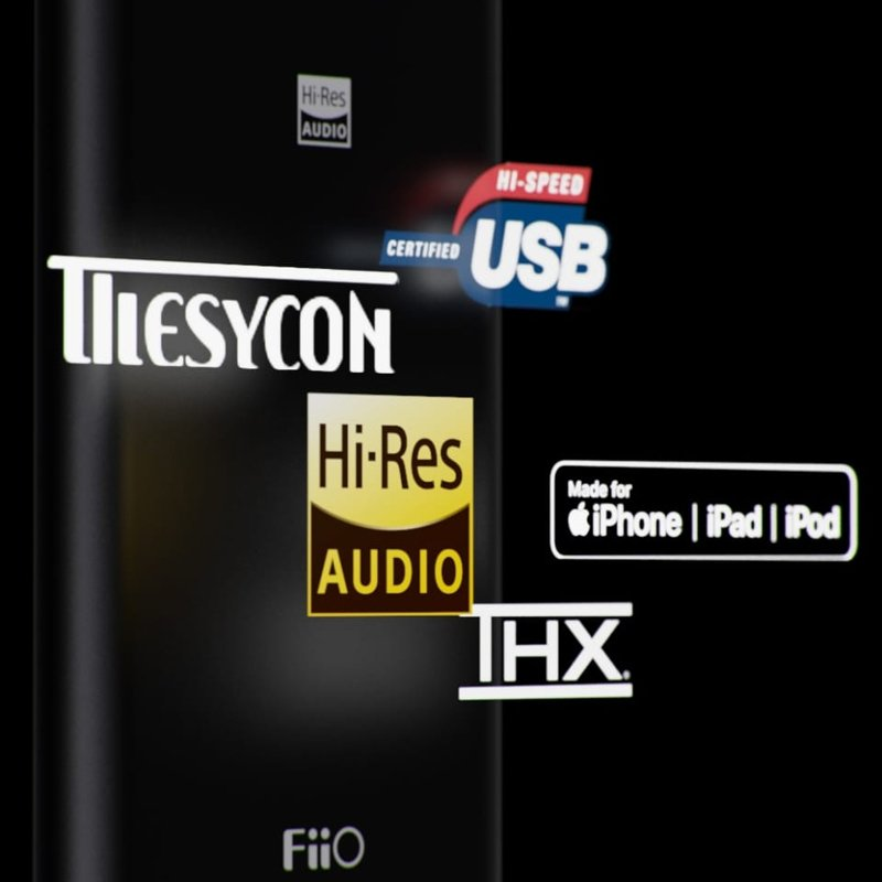 FiiO Q3【10%OFFクーポン配布中】AppleMusicロスレス対応 バランス出力対応 ハイレゾ対応 ポータブルヘッドホンアンプ PHPA USB DAC emilaidirect 07