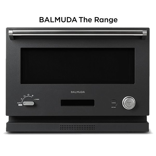 バルミューダ オーブンレンジ BALMUDA The Range K04A-BK ブラック 18L ※リコール対象外 【120サイズ】
