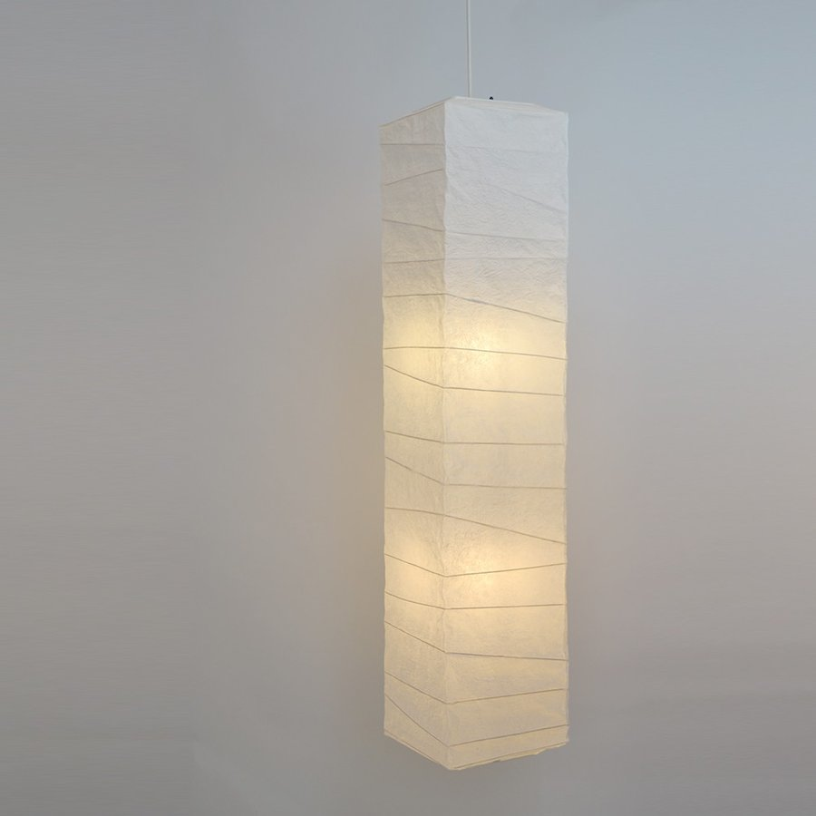 彩光デザイン 和照明 大型 和紙照明 ペンダントライト ペンダントライト 2灯 【電球別売】 SDPN-201 揉み紙 日本製 和風照明【120サイズ】