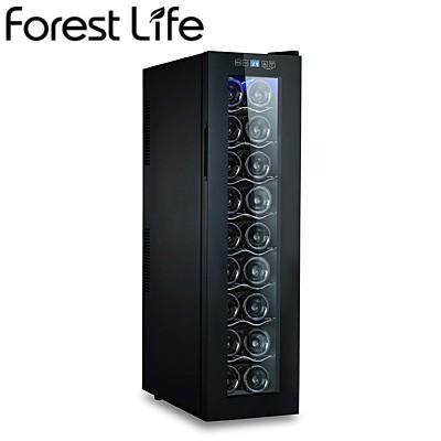 フィフティ ワインセラー 庫内容量49L 18本収納 家庭用 右開き Forest Life WCF-18【180サイズ】