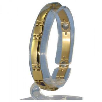 品質のいい MARE(マーレ) ゲルマニウム5個付ブレスレット GOLD/IP ミラー 119G S (17.7cm) H9259-07S同梱, gmall 75efd2f9