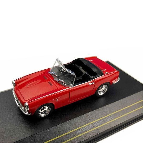 First43/ファースト43 ホンダ S800 1966 オープンルーフ レッド 1/43スケール F43-103同梱不可
