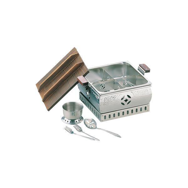ステンミニおでん鍋湯豆腐兼用 005376-001同梱不可
