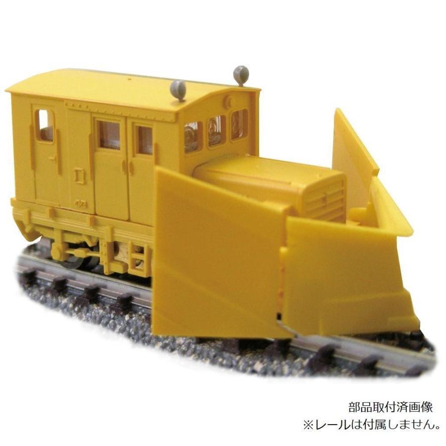 津川洋行 Nゲージ 車両シリーズ TMC100BS 3窓 動力付(車体色:黄色/ラッセルヘッド付) 14024同梱不可