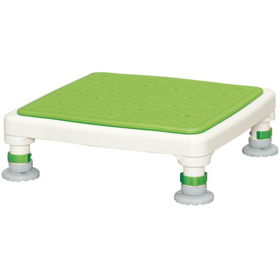 出産祝い ジャストソフト あしぴたシリーズ グリーン アルミ製浴槽台 10-15-介護用品
