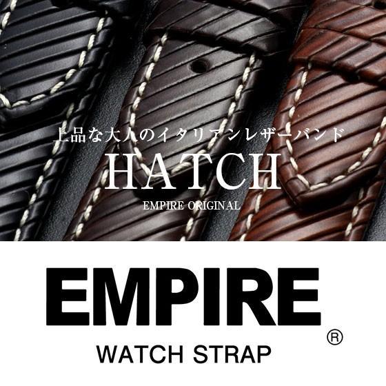 時計 ベルト 18mm 20mm 腕時計 バンド 本革 イタリアンレザー 耐汗 EMPIRE|empire
