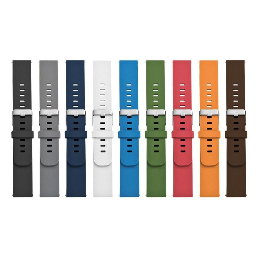 時計 ベルト 腕時計 バンド EMPIRE SILICONE シリコン イージークリック 18mm 20mm 22mm|empire|11