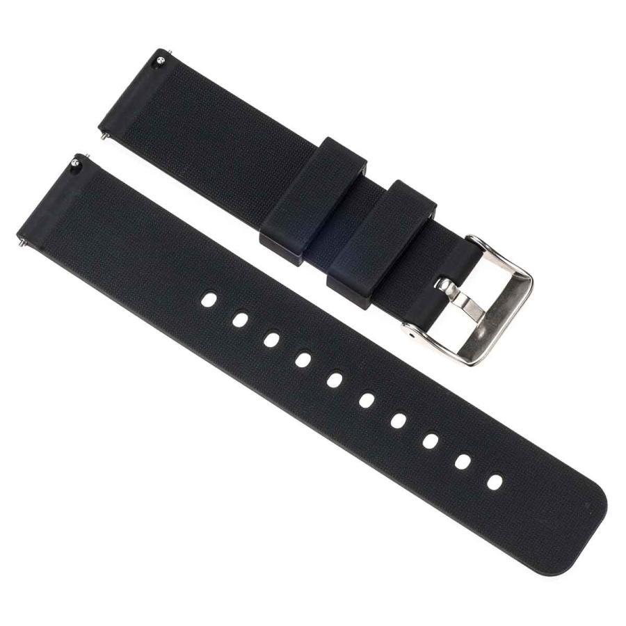 時計 ベルト 腕時計 バンド 18mm 20mm 22mm EMPIRE シリコン イージークリック|empire|02