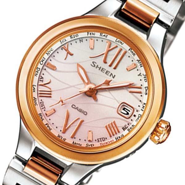 【超安い】 カシオ シーン カシオ ソーラー レディース 腕時計 SHW-1700SG-4AJF 腕時計 ピンク SHW-1700SG-4AJF 国内正規 ピンク, モコペット:989d9744 --- airmodconsu.dominiotemporario.com