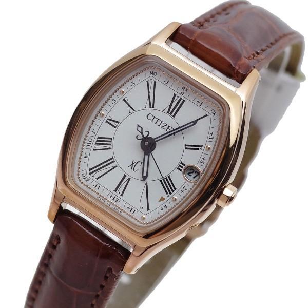 人気激安 シチズン CITIZEN 腕時計 レディース ES9352-05B クロスシー XC 電波時計 ホワイト ブラウン 国内正規品, 世羅郡 c8db7e6f