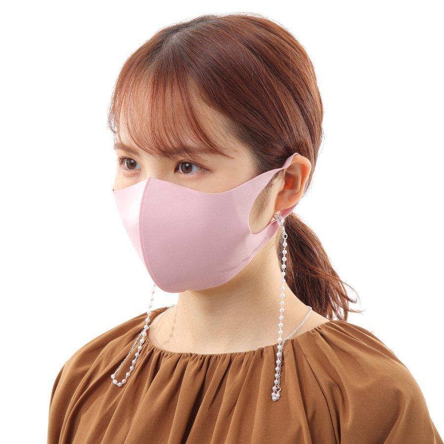 マスクストラップ パール ネックレス チェーン ネックストラップ 首かけ おしゃれ かわいい 韓国 レディース メガネストラップ マスクチャーム emu-color 11