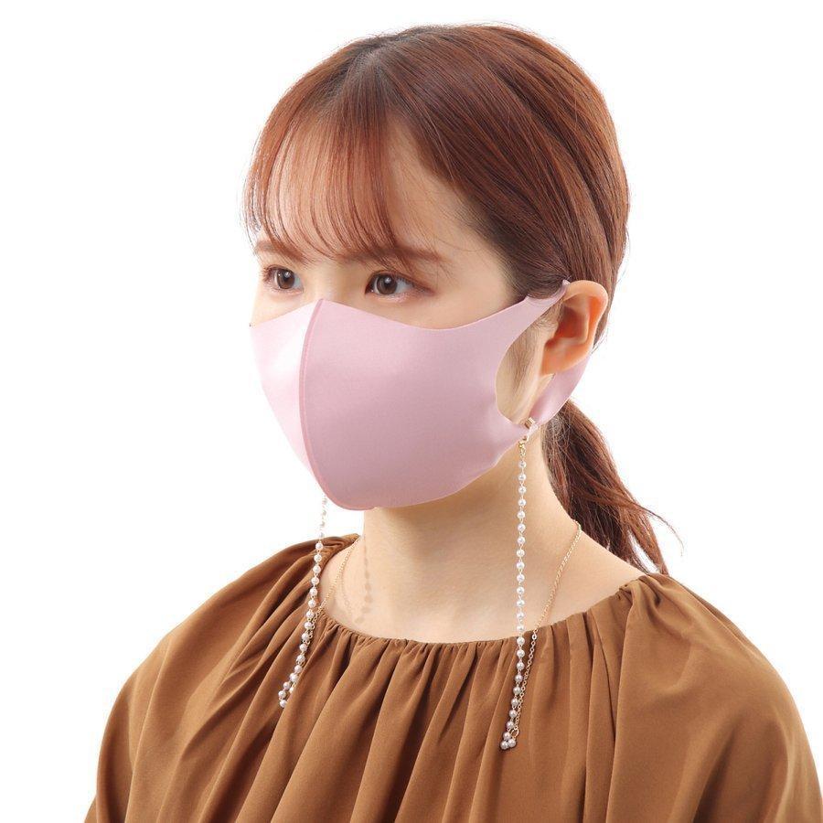 マスクストラップ パール ネックレス チェーン ネックストラップ 首かけ おしゃれ かわいい 韓国 レディース メガネストラップ マスクチャーム emu-color 12