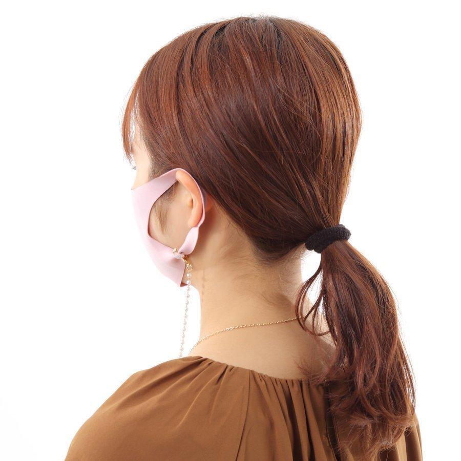 マスクストラップ パール ネックレス チェーン ネックストラップ 首かけ おしゃれ かわいい 韓国 レディース メガネストラップ マスクチャーム emu-color 13