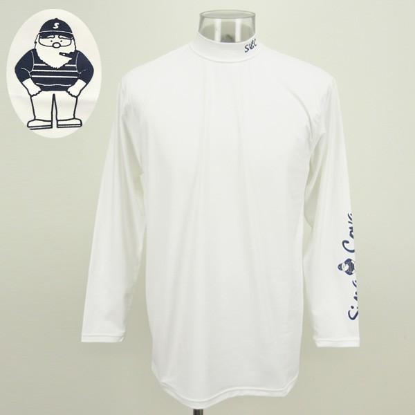 シナコバ /メンズ 長袖 UVアンダーシャツ(ハイネック コンプレッション)(L)(LL) SINA COVA ゴルフ sh19150010-10