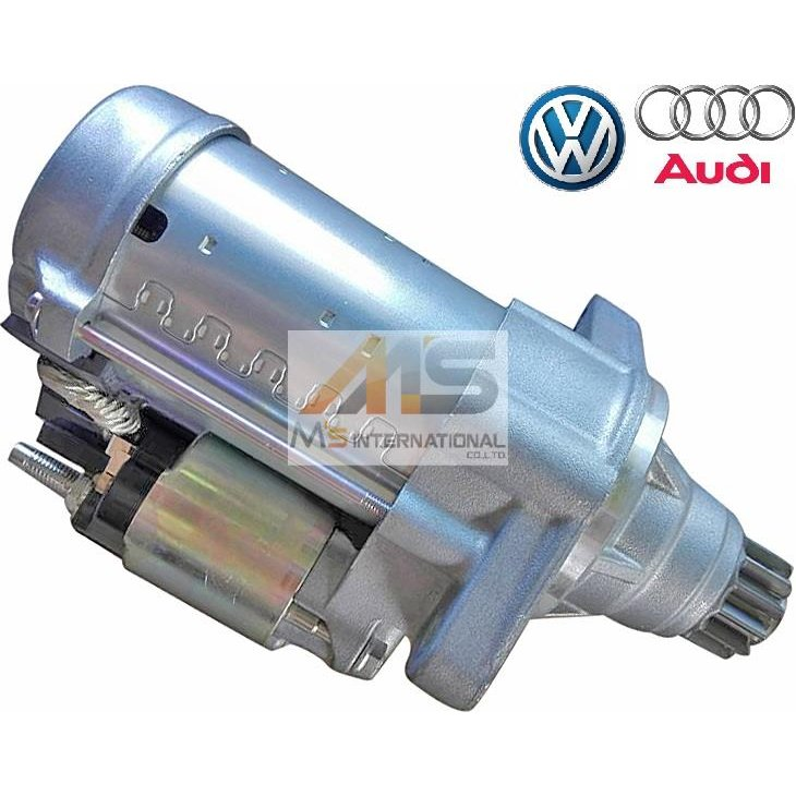 【M's】 VW ゴルフ7 / ゴルフオールトラック (AU) パサート (3G) 純正OEM セルモーター ( スターター モーター )  フォルクスワーゲン 02E911024D