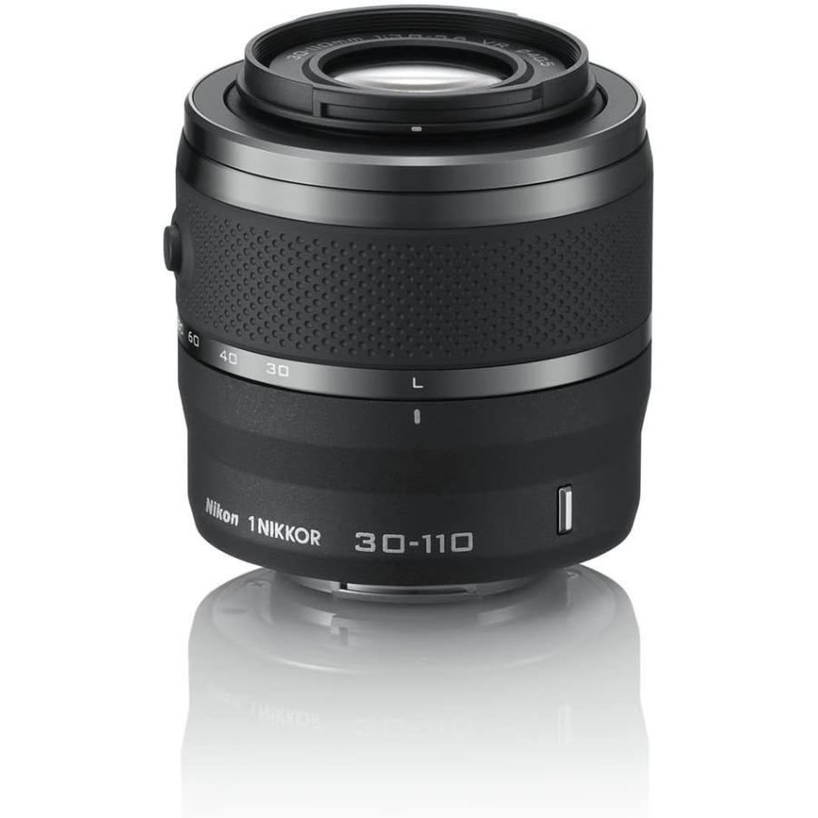 ニコン Nikon 定価の67%OFF 望遠ズームレンズ ブランド品 1 NIKKOR VR ニコンCXフォーマット専用 3.8-5.6 ブラック f 30-110mm