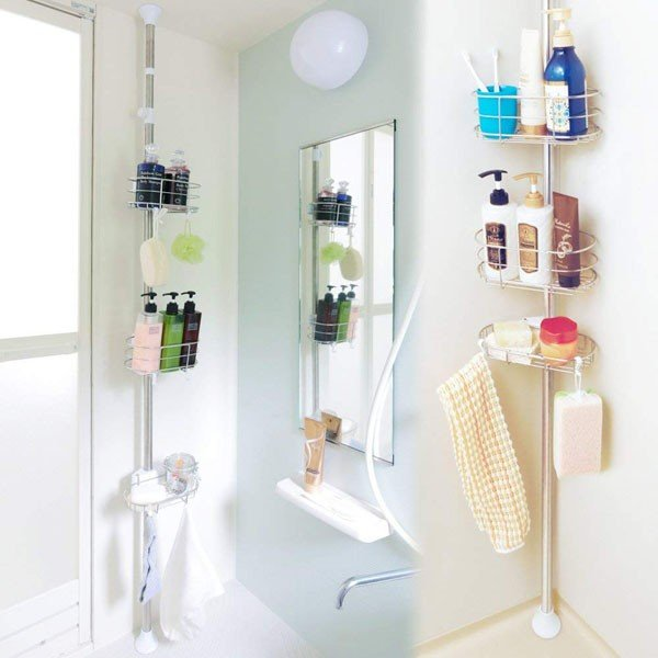 アイリスオーヤマ 突っ張りラック 浴室 伸縮 高さ190~250cm BLT-25|encho|02