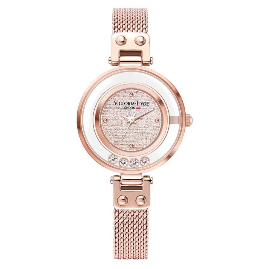 VICTORIA HYDE LONDON ヴィクトリアハイドロンドン 腕時計 レディス クリスタル VH30097 レディース 腕時計 endless