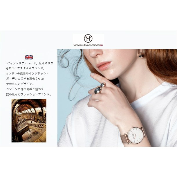 VICTORIA HYDE LONDON ヴィクトリアハイドロンドン 腕時計 レディス クリスタル VH30097 レディース 腕時計 endless 11