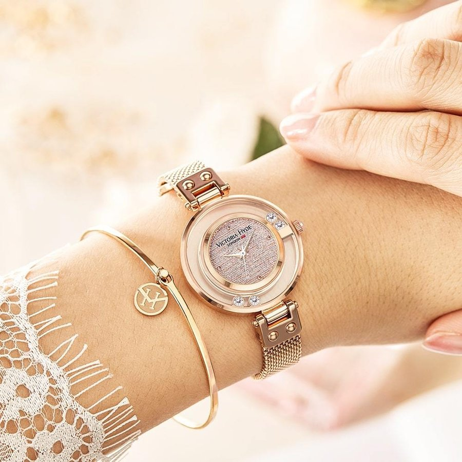 VICTORIA HYDE LONDON ヴィクトリアハイドロンドン 腕時計 レディス クリスタル VH30097 レディース 腕時計|endless|04