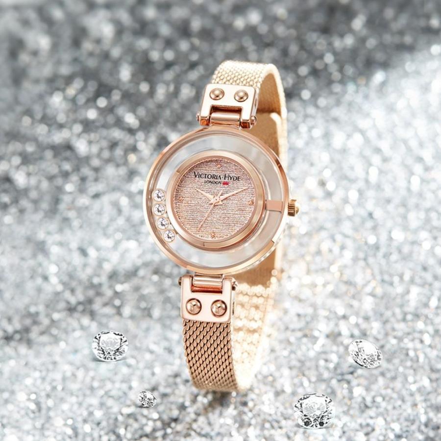 VICTORIA HYDE LONDON ヴィクトリアハイドロンドン 腕時計 レディス クリスタル VH30097 レディース 腕時計 endless 05