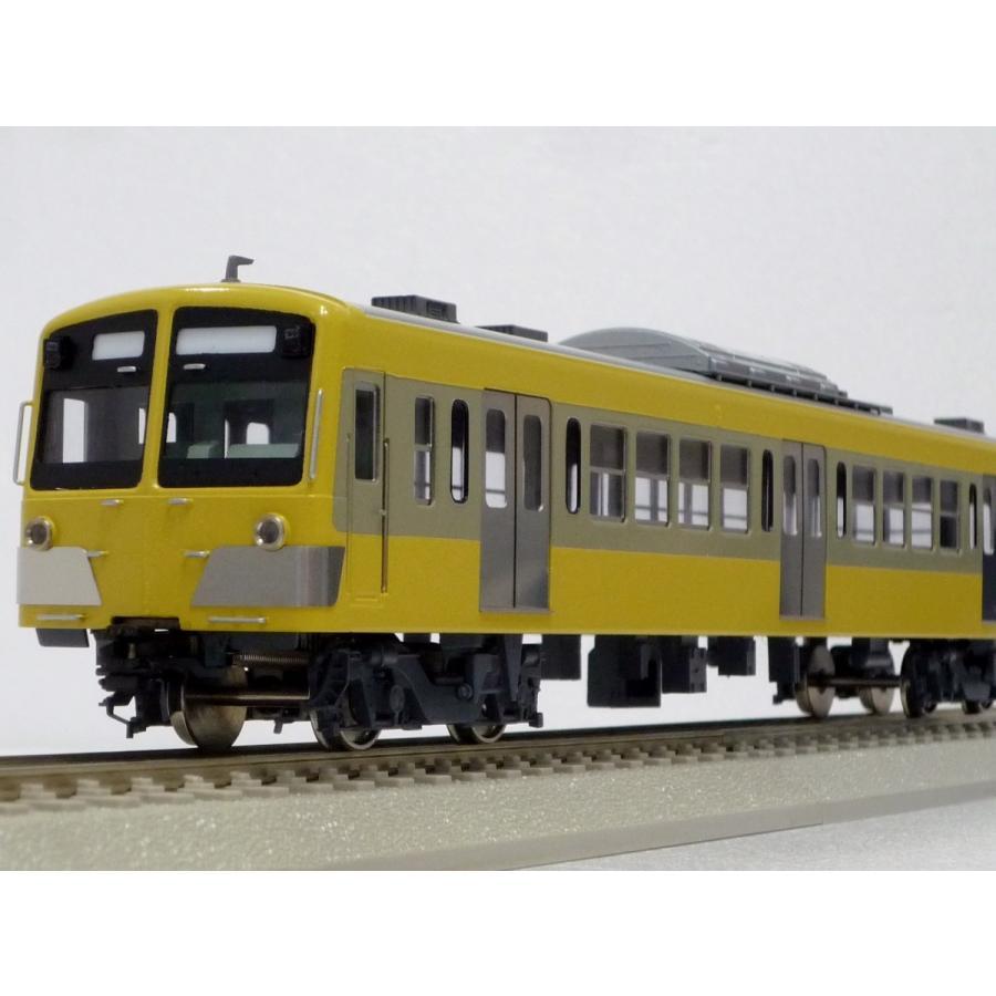 エンドウ 西武鉄道 新101系 「2色塗装」基本4輌セット  真鍮製 スケール:1/80 レール幅16.5mmゲージ(HOゲージ)