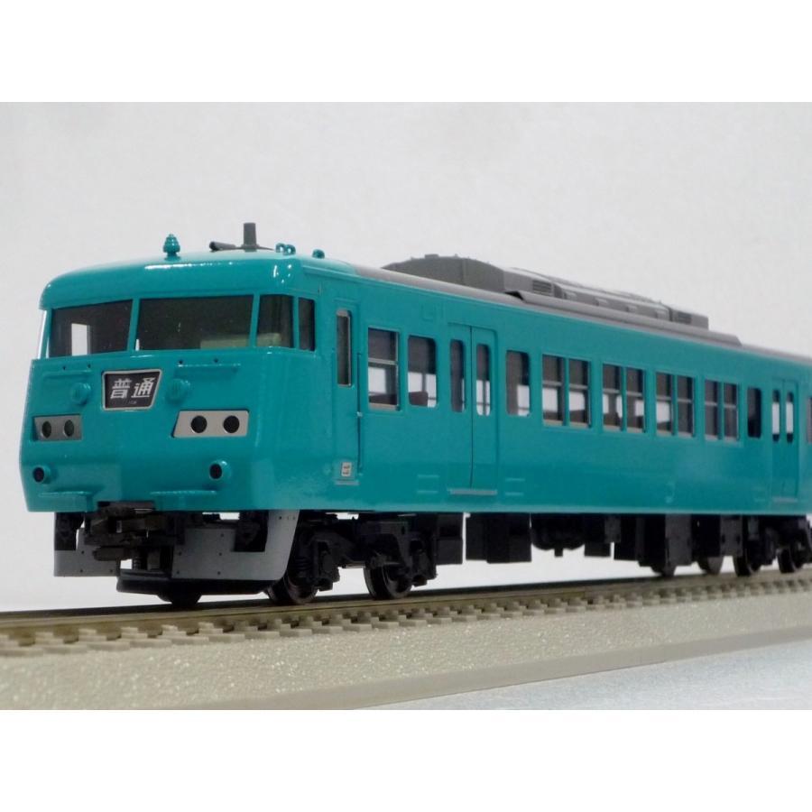 エンドウ JR西日本 117系 300番代「和歌山地域色」4輌 Jセット  真鍮製 スケール:1/80 レール幅16.5mmゲージ(HOゲージ)