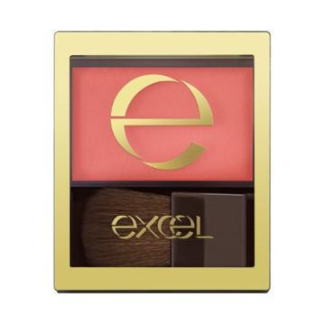 ゆうパケット可excel ● エクセル スキニーリッチチーク    全4色|enewlife