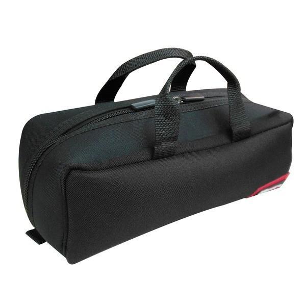 (業務用20セット)DBLTACT トレジャーボックス(作業バッグ/手提げ鞄) Sサイズ 自立型/軽量 DTQ-S-BK ブラック(黒) 〔収納用具〕【商工会会員です】