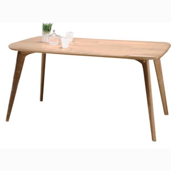 ダイニングテーブル 長方形 木製 4人掛けサイズ CL-817TNA ナチュラル【商工会会員です】