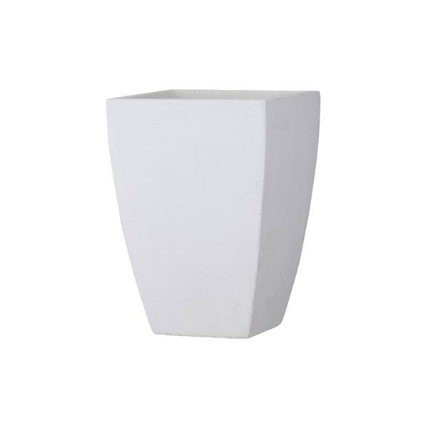 バスク スクエアー 44cmホワイト(44×44×高さ62cm)